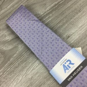 Van Heusen Purple Pattern Tie